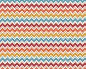 WHOLESALE Fabric Clearance Sale 11 Yards & FREE SHIPPING! Hooty Hoot Chevron Orange