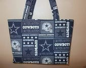 CinJas Large Dallas Cowboys Tote