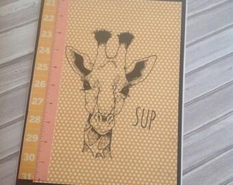 Sup Giraffe Card