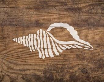Seashell Nautical Stencil - Reusable Stencils - DIY Home Décor - Easy DIY