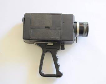 Vintage Video Camera 8mm Super8 by Gaf Movie Film 1970s 70s Sci Fi Space Age Futuristic Retro Design