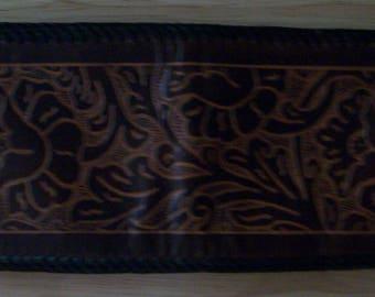 Vintage Tooled/Embossed Men's Wallet