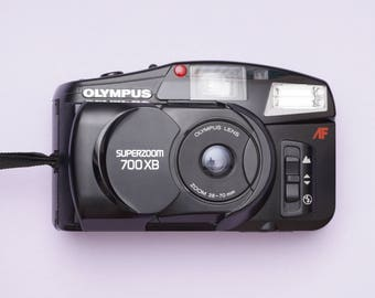 Olympus Superzoom 700 XB Point and Shoot 35mm Compact Film Camera