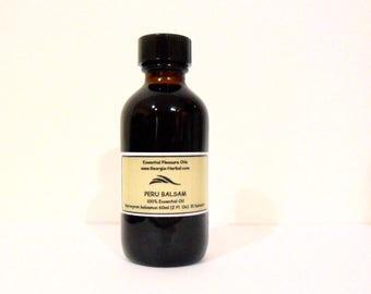 Peru Balsam   100% Essential Oil  Myroxyron balsamun     U Pick Size