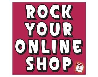 Rock Your Online Shop Class by Jennibellie - PDF VERSION