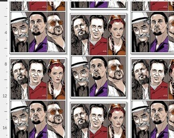 The Big Lebowski, Custom in Your Size Men's Small up to 6X