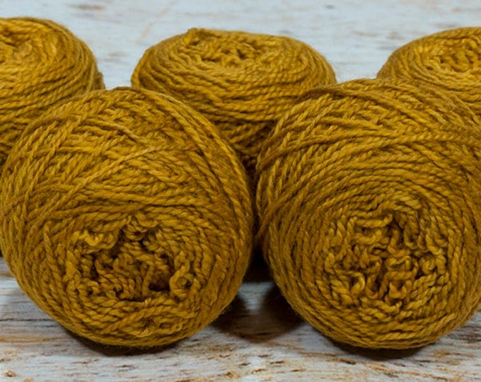 "Wee "" Copper "" -Lleap Handpainted Semisolid Fingering Weight Yarn Mini Skein"