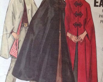 Butterick 5987 Misses' Cape • size small