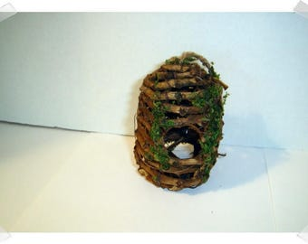 Vine and Moss Bee Hive Ornament/ Home Decor/ Craft Supplies*