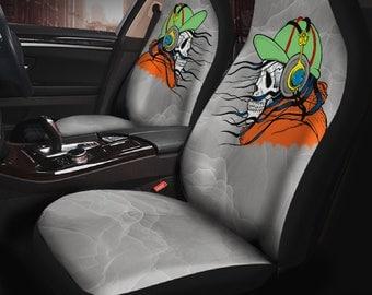 Skull Car Seat Cover