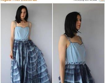 48 HR FLASH SALE Vintage 1940s Formal Gown   1940s Dress   40s Evening Gown   40s Dress   1940s Maxi Dress - (medium)