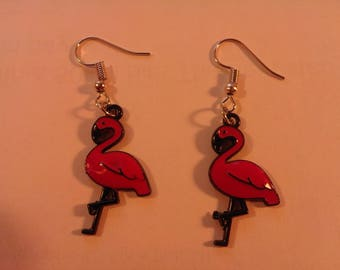 Pink Flamingo  Earrings 249433