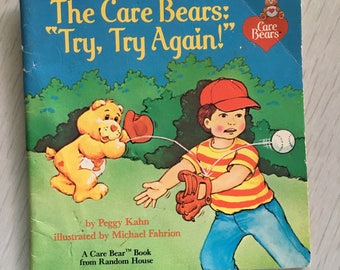 1985 paperback Care Bears childrens book