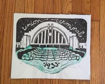 Union Terminal Block Print
