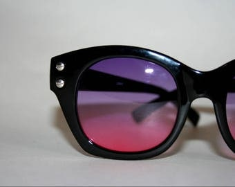 Black Hornrim Sunglasses
