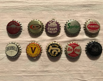 """Bottle Caps """"Soda caps"""" with magnets"""