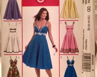 McCall's M5094 new uncut misses dress pattern