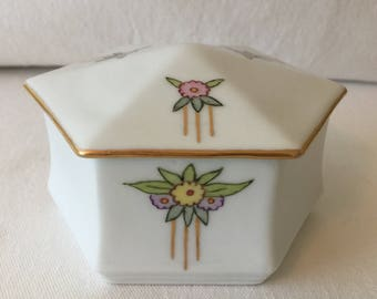 Vintage Vanity Covered Dish