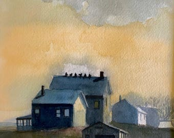 cottages on the marsh