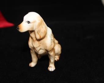 Vintage Golden Retriever Figurine