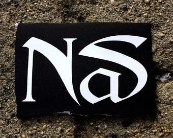 Nas Logo White Decal