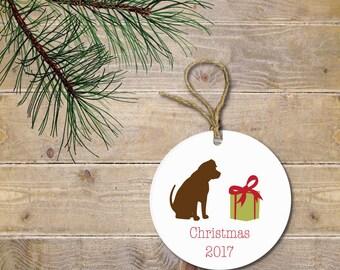 Personalized Christmas Ornament, Dog Christmas Ornament, Dog Lovers, Personalized Christmas Ornament, Christmas Ornaments, Pets