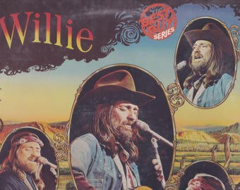 1977 RCA Records Willie Nelson Before His Time Country Music LP Album Record