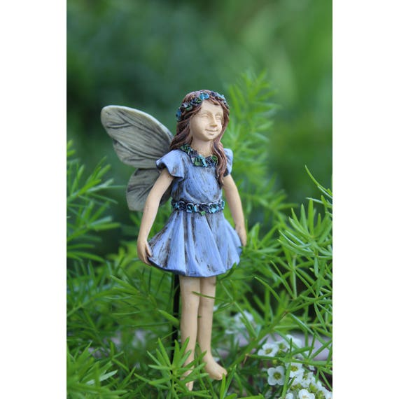 "Fairy Paisley (2.5"" Tall) for the Fairy Garden"