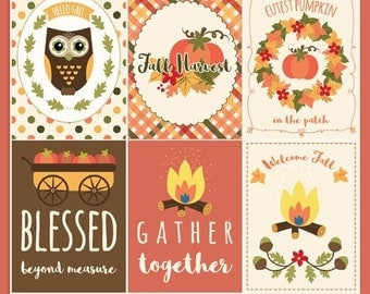50%OFF Fall printable cards, Autumn printables, Fall 3x4 inch cards, Fall and Autumn journaling cards, Fall stickers, instant download, P420