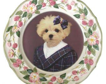 "Maggie Maltese, School Portrait Plate 11"""