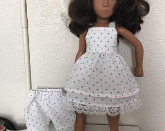Summer Dress, Pants, and Bolero for Sasha Doll
