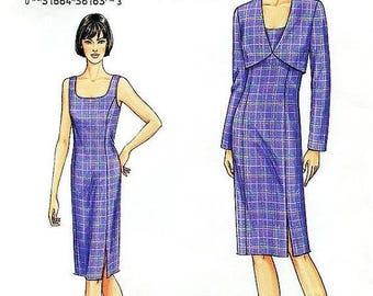 On Sale Vogue Dress Pattern 7695 - Misses' Jacket and Dress - SZ 8/10/12
