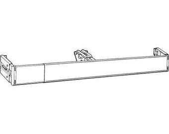 """4.5"""" White 86-150"""" Continental Kirsch Curtain Rod"""