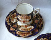 Royal Albert Heirloom, 2 Piece Tea Cup and Saucer Set, Teacup and Saucer, Made in England, Demitasse Cups