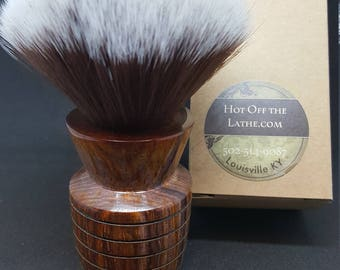 Beuatiful Beehive Cocobolo Shave Brush, 24mm Mother Lode Knot No. 2