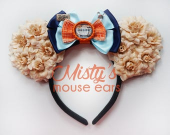 NEW DESIGN! Food and Wine Epcot Rose Mouse Ears