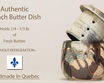 Butter Keeper, French Butter Dish, Butter Dish, Beurrier Breton, French Butter Keeper, Cloche de beurre, Beurrier Breton