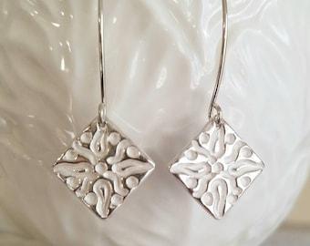 Fine Silver Handmade Earrings