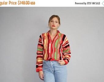 En vente 35 % de rabais sur Coogi Cardigan femmes - années 1990 authentique Coogi Sweater - - le Hangin ' avec les potes Coogi - W00122