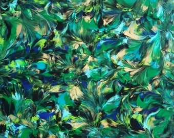 Painted by BREASTS 669 Roswell ~ Marcey Hawk 16x20 Breast Art