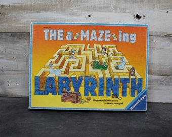 1988 Ravensburger The A-MAZE-ING Labyrinth Game, Discovery Toys Maze Game