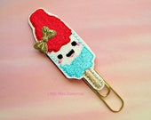 Patriotic Popsicle Glitter Planner Clip Paperclip fourth of july