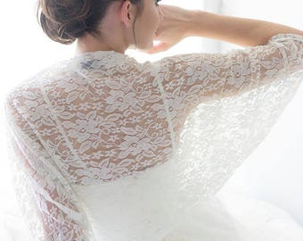 ON SALE Wedding shawl, lace sleeves for bride, bridal shawl, lace sleeves for wedding, white lace shawl for bride