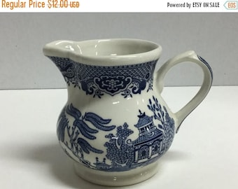 Sale Vintage Creamer Churchill England Blue Willow Creamer Made in England