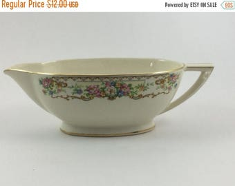 Sale Vintage Edwin M Knowles Gravy Boat Made in USA