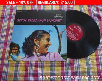 August Vinyl Blow Out 10% OFF Already Low Prices Gypsy Music  From Hungary Vinyl LP  Record AlbumLondon International Records Uncomon