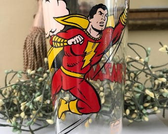 Vintage Superman Tumbler, 1978 Pepsi Collector's Series / Vintage Superman Glass / Super Hero Memorbilia