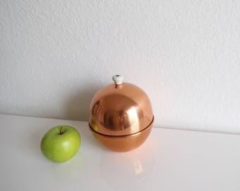 VINTAGE Copper Bowl Lid Round