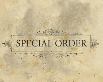 JS's Special Order