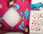 I Spy Bag Game, Mermaids, Girls, seek and find, busy bag, travel toy game, kids gift, sensory occupational therapy, eye spy, vacation